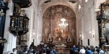 Gimnazijalci u crkvi sv. Katarine