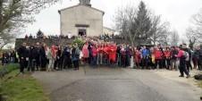 Planinarska grupa u Istri