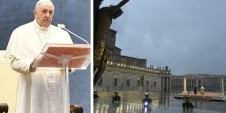 Papa Franjo, nagovor uz Urbi et orbi. Molitva i blagoslov s Presvetim na Trgu sv. Petra u Vatikanu u petak 27. ožujka 2020.